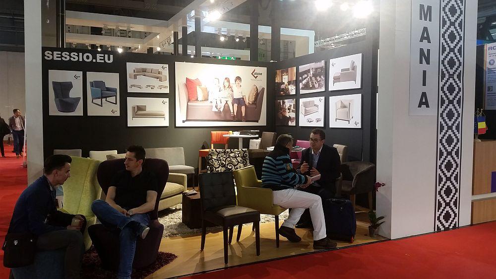 adelaparvu.com despre firme romanesti de mobila la Salone del Mobile Milano 2016, stand Sessio