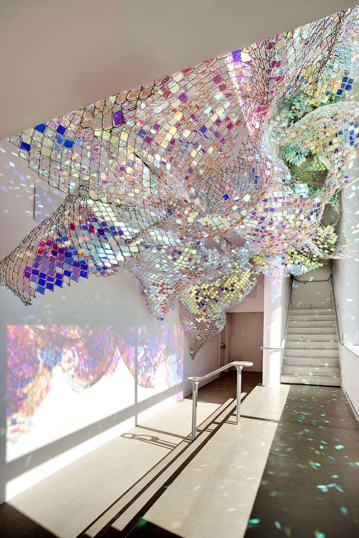 adelaparvu.com despre gard de sarma ca opera de arta, artists Soo Sunny Park si Spencer Topel , Capturing-Resonance, Foto Peters Harris