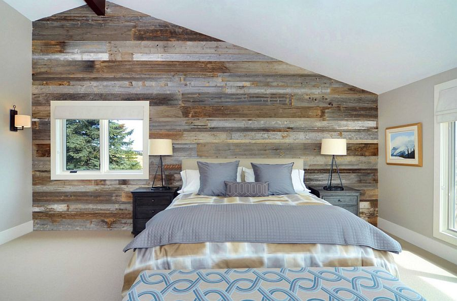 adelaparvu.com despre lemn recuperat, amenajare cu lemn recilat, Foto Bruce Johnson & Associates Interior Design