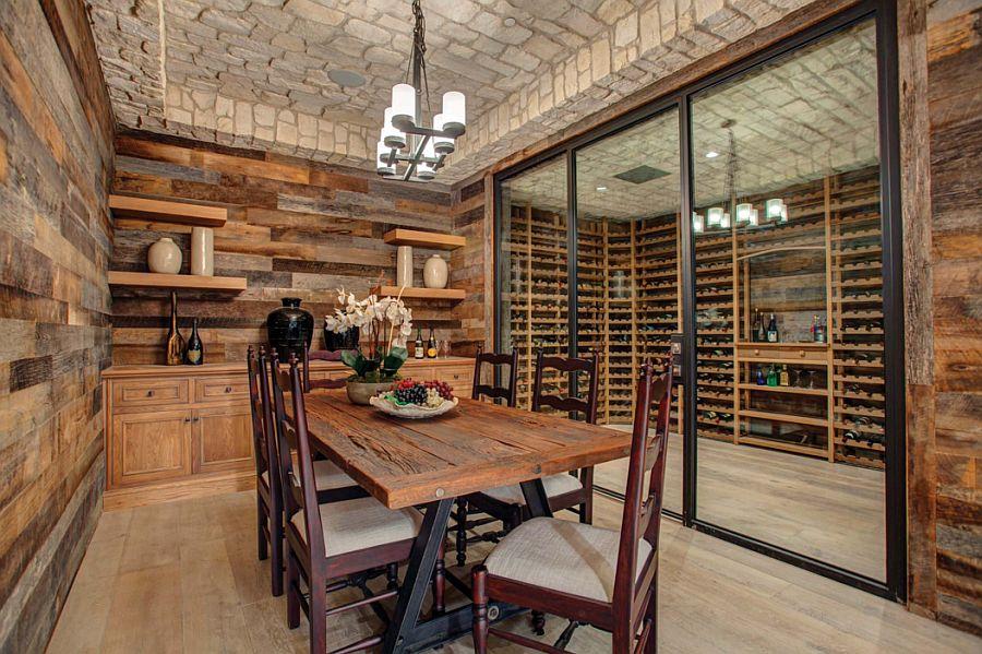 adelaparvu.com despre lemn recuperat, amenajare cu lemn recilat, Foto Euroline Steel Windows