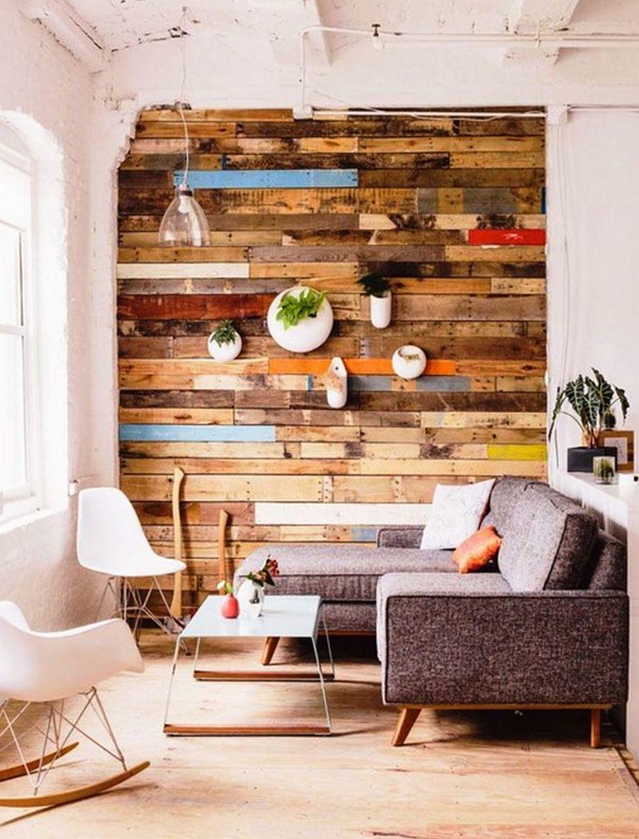 adelaparvu.com despre lemn recuperat, amenajare cu lemn recilat, Foto IdeaDekor