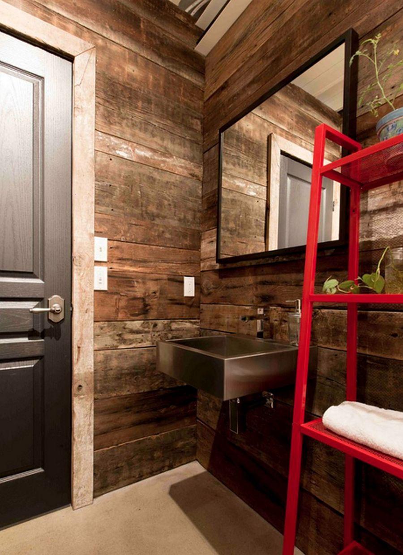 adelaparvu.com despre lemn recuperat, amenajare cu lemn recilat, Foto Les Collections Dubreuil