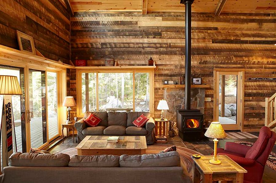 adelaparvu.com despre lemn recuperat, amenajare cu lemn recilat, Foto Nguyen Architects