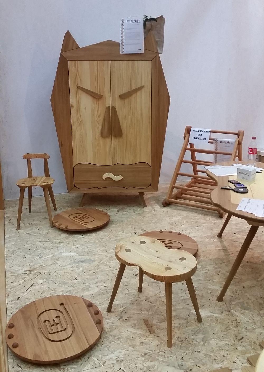 adelaparvu.com despre mobila, jucarii si parchet din lemn masiv, Biojucarii, Biomobila, Suceava (3)