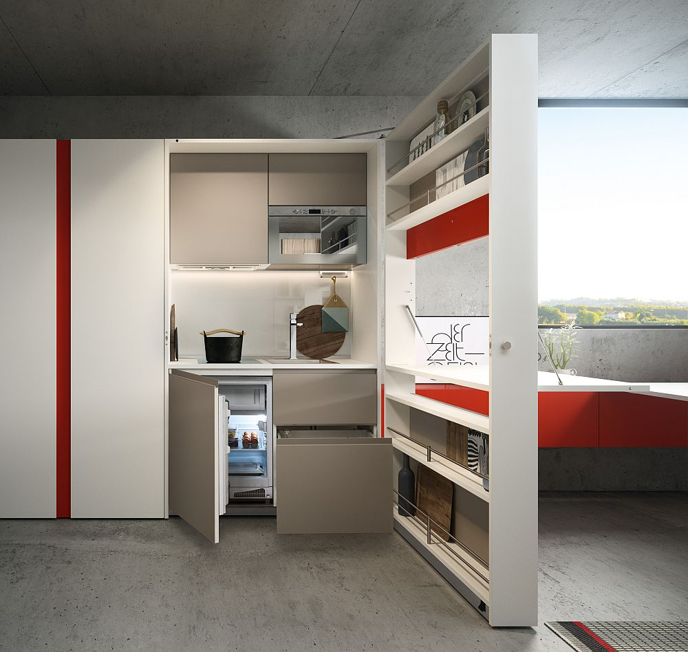 adelaparvu.com despre noutati Salone del Mobile 2016 CLEI Kitchen Box Plus (2)