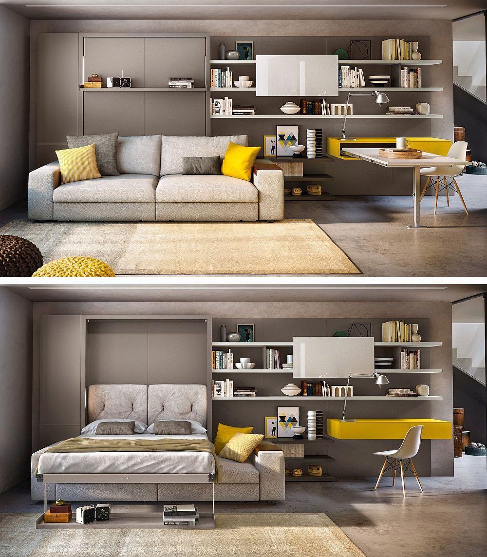adelaparvu.com despre noutati Salone del Mobile 2016, CLEI Tango divano si masa birou App