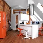 adelaparvu.com despre pod lung si ingust transformat in mansarda, design interior Studio Motiv (8)