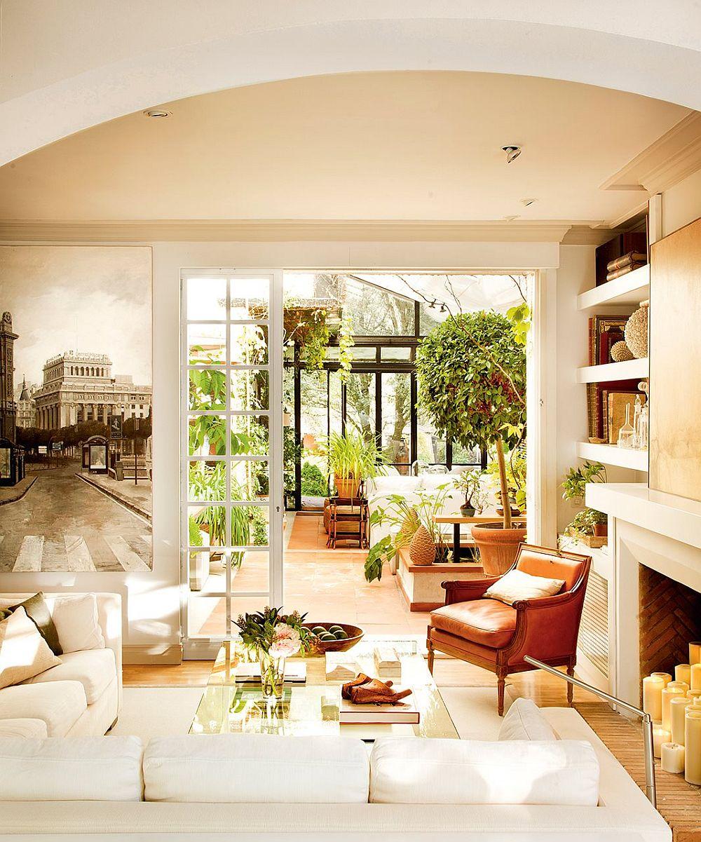 adelaparvu.com despre transformare a casei cu obiecte putine, decorator Pilar de la Vega, Foto ElMueble (14)