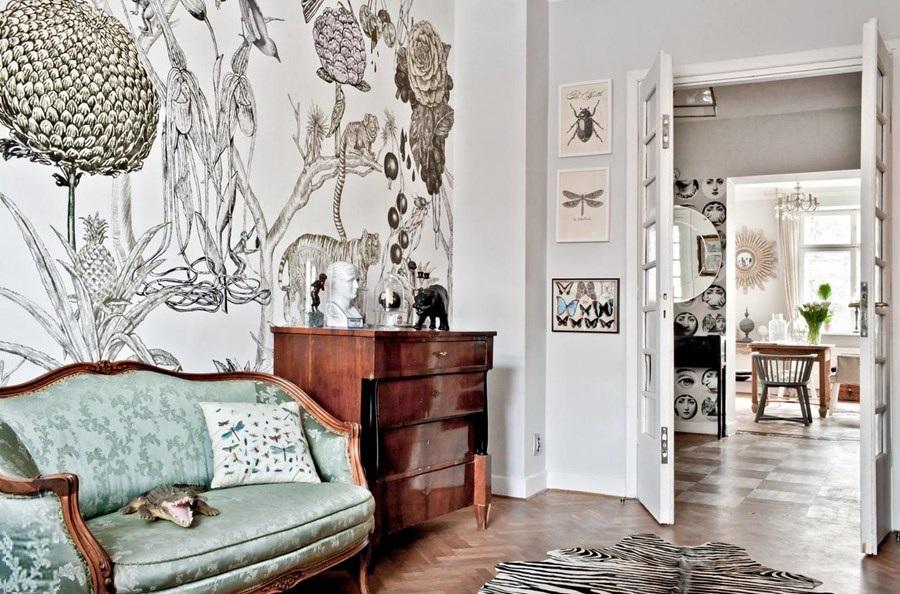 adelaparvu.com locuinta in stil eclectic, 140 mp, Varsovia, designer Marta Bielewicz, Foto Rafal Lipski (3)