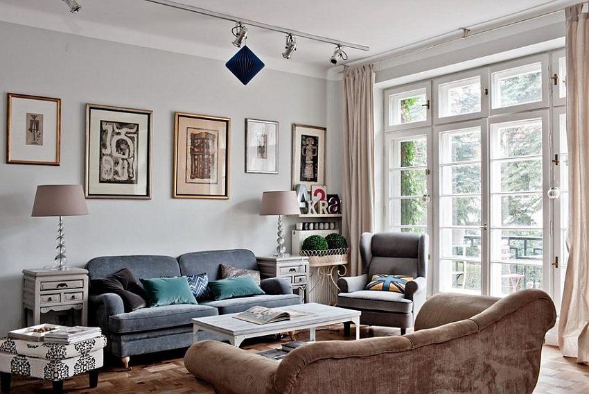 adelaparvu.com locuinta in stil eclectic, 140 mp, Varsovia, designer Marta Bielewicz, Foto Rafal Lipski (5)
