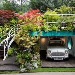 adelaparvu.com despre Garage Garden, Senri Sensei Garden, peisagist Kazuyuki Ishihara  (1)