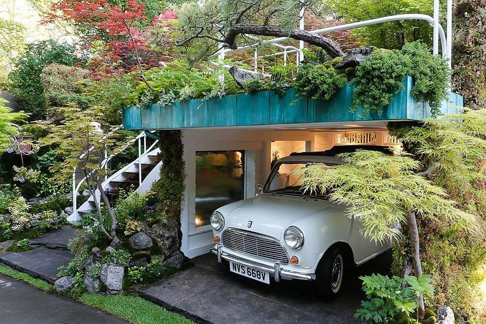 adelaparvu.com despre Garage Garden, Senri Sensei Garden, peisagist Kazuyuki Ishihara (3)