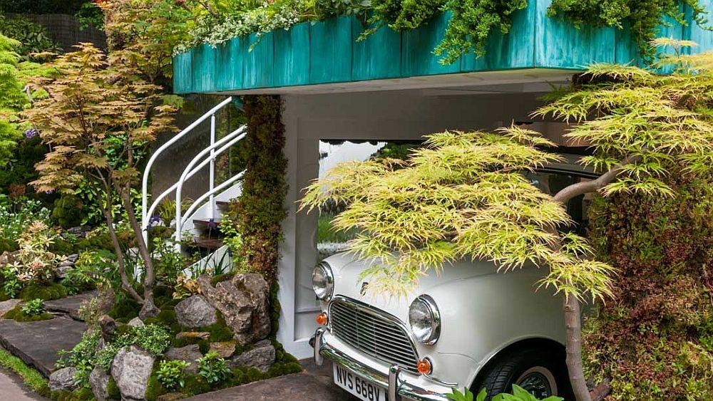 adelaparvu.com despre Garage Garden, Senri Sensei Garden, peisagist Kazuyuki Ishihara (7)