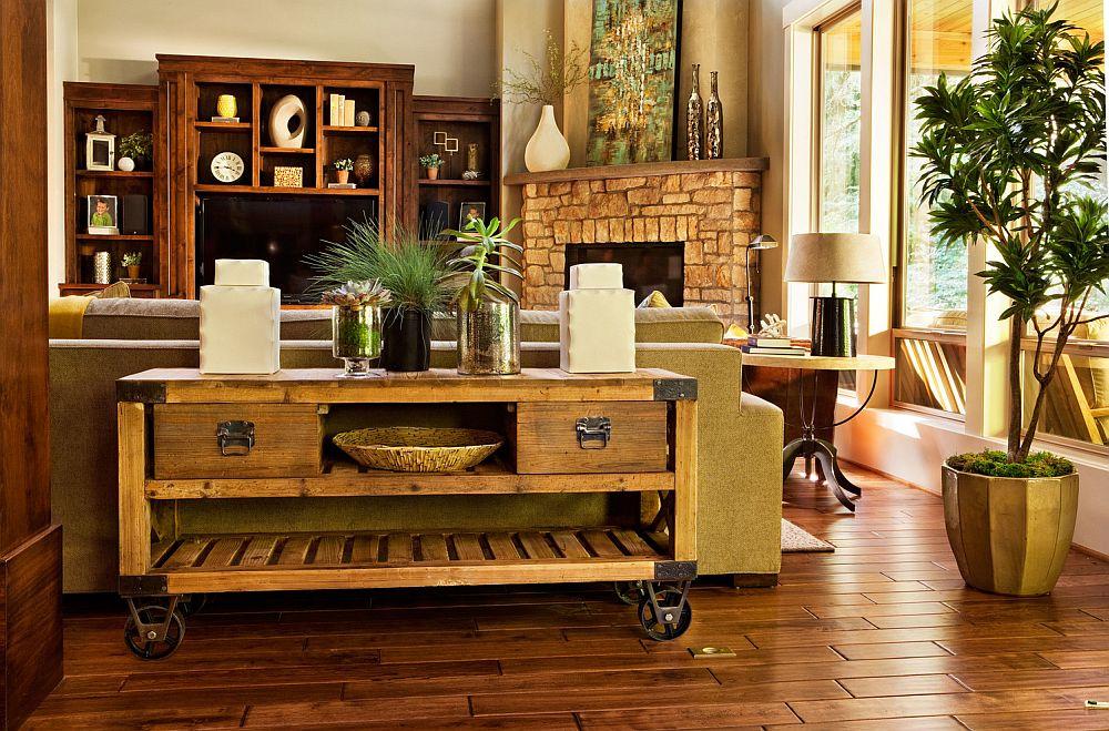 adelaparvu.com despre amenajare interior casa cu accente rustice, designer Garrison Hullinger, Foto blackstoneedge.com Foto