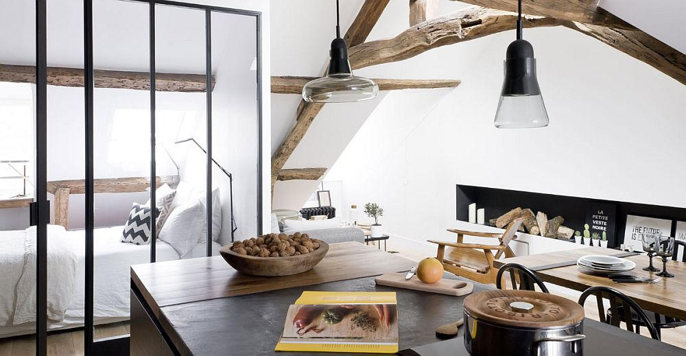 adelaparvu.com despre apartament 50 mp in pod, Paris, design MargauxBeja, Foto Alexis Cottin si Julien Fernandez (4)