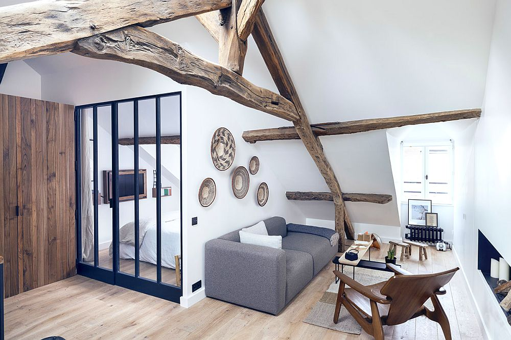 adelaparvu.com despre apartament 50 mp in pod, Paris, design MargauxBeja, Foto Alexis Cottin si Julien Fernandez (6)