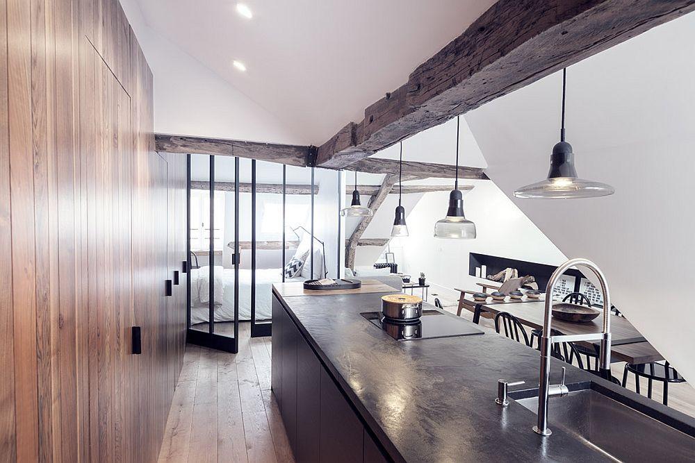 adelaparvu.com despre apartament 50 mp in pod, Paris, design MargauxBeja, Foto Alexis Cottin si Julien Fernandez (7)