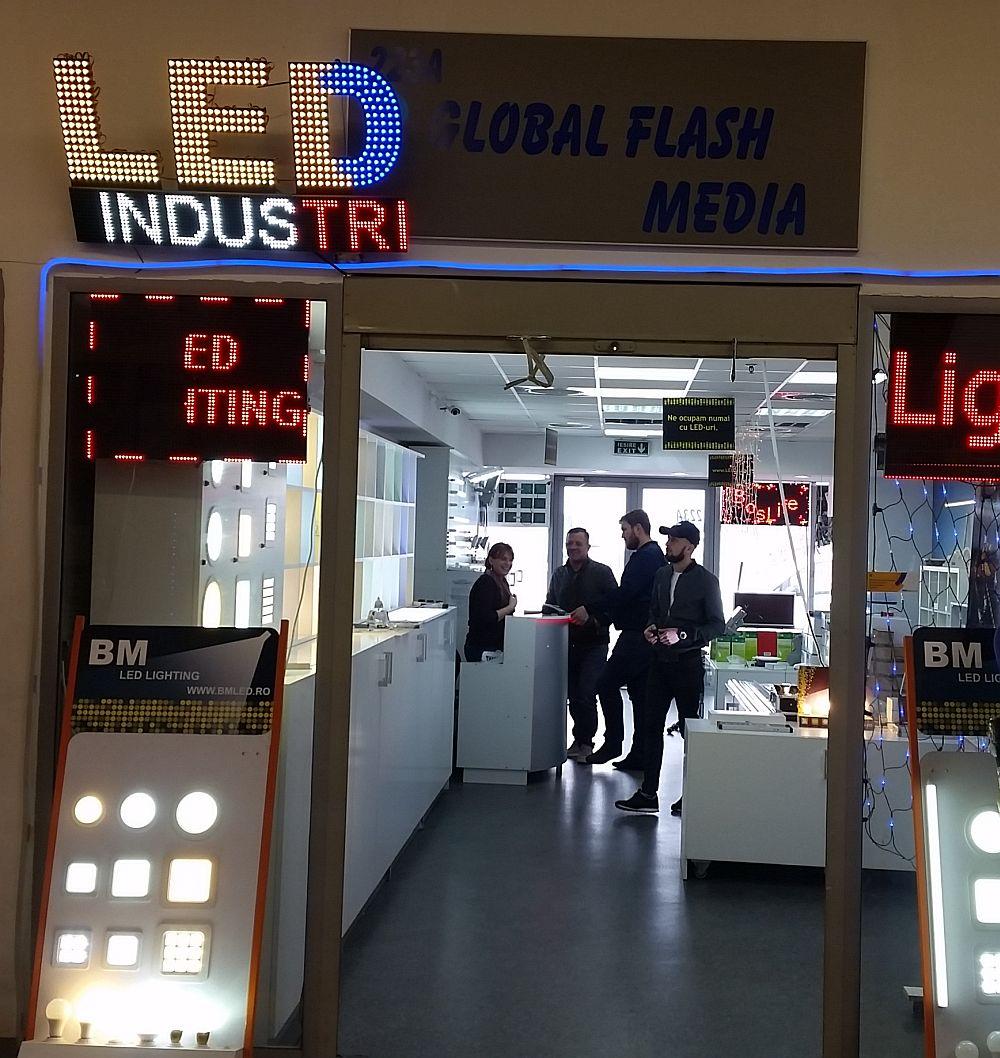 adelaparvu.com despre becuri LED asamblate in Romania, Global Flash Media (14)