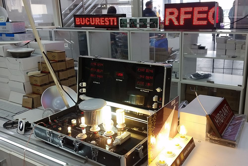 adelaparvu.com despre becuri LED asamblate in Romania, Global Flash Media (7)