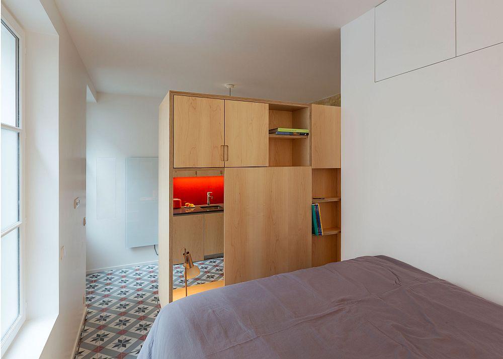 adelaparvu.com despre bucatarie 24 mp transformata in garsoniera, design arh. Anne Rolland, Foto Jerome Fleurier (1)