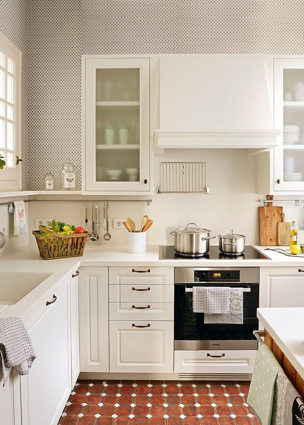 adelaparvu.com despre bucatarie mica cu masa insula, design Deulonder Arquitectura Domèstica, Foto ElMueble (3)