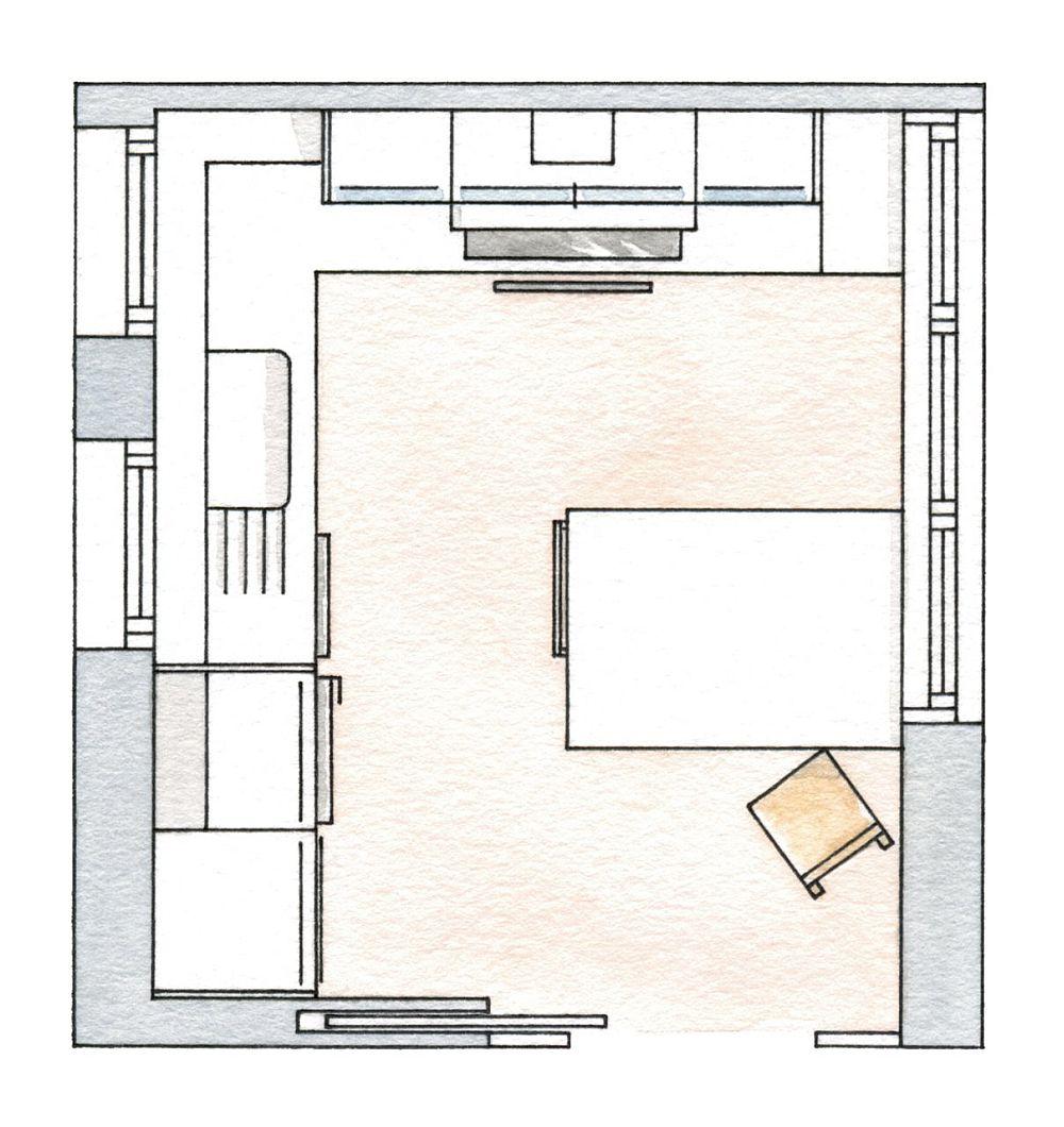 adelaparvu.com despre bucatarie mica cu masa insula, design Deulonder Arquitectura Domèstica, Foto ElMueble (9)
