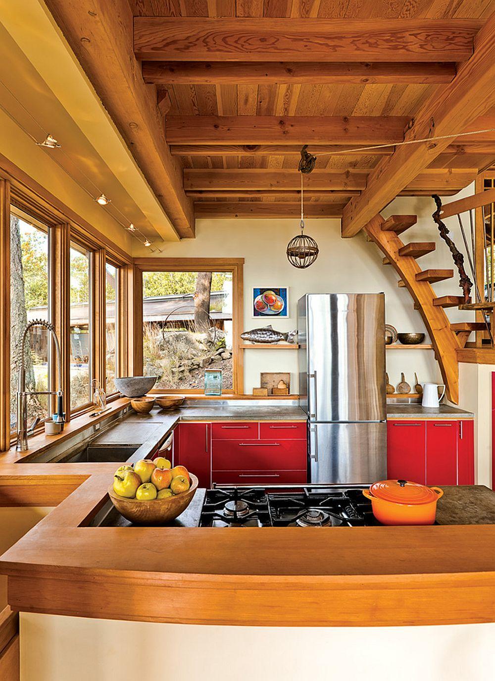 adelaparvu.com despre casa in Golf Georgia, design arh. Everest Lapp, Foto John Sinal (4)