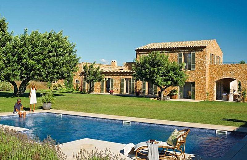 adelaparvu.com despre casa mediteraneeana din piatra, Majorca, foto ElMueble (10)