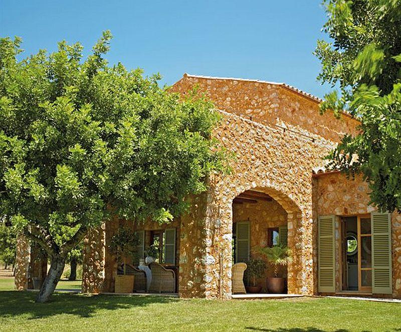 adelaparvu.com despre casa mediteraneeana din piatra, Majorca, foto ElMueble (11)