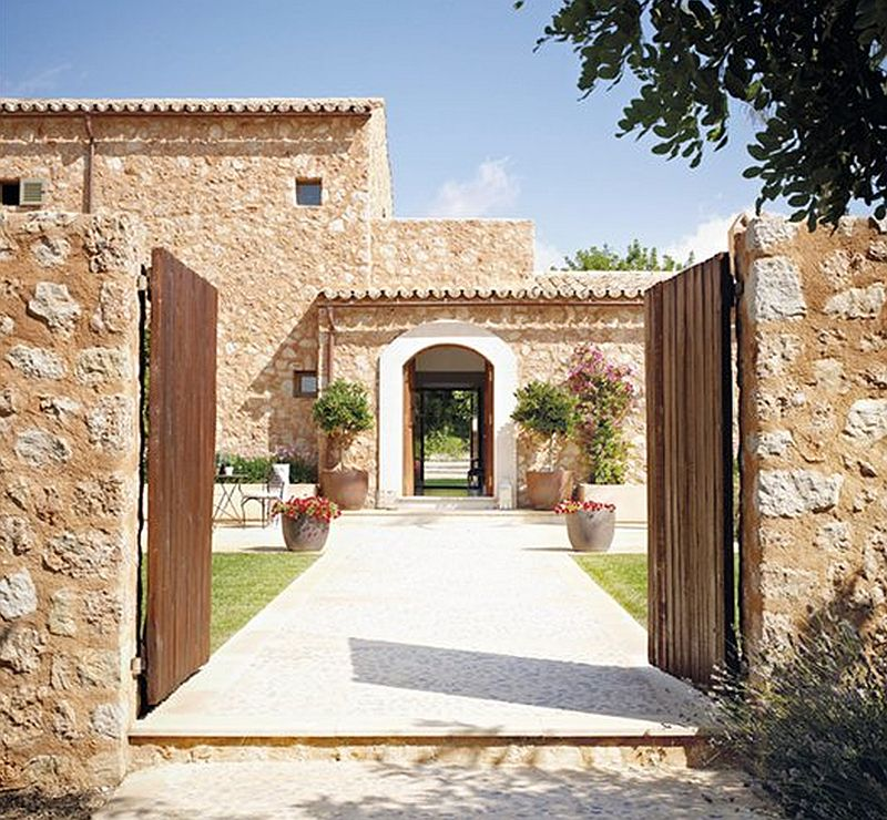 adelaparvu.com despre casa mediteraneeana din piatra, Majorca, foto ElMueble (12)