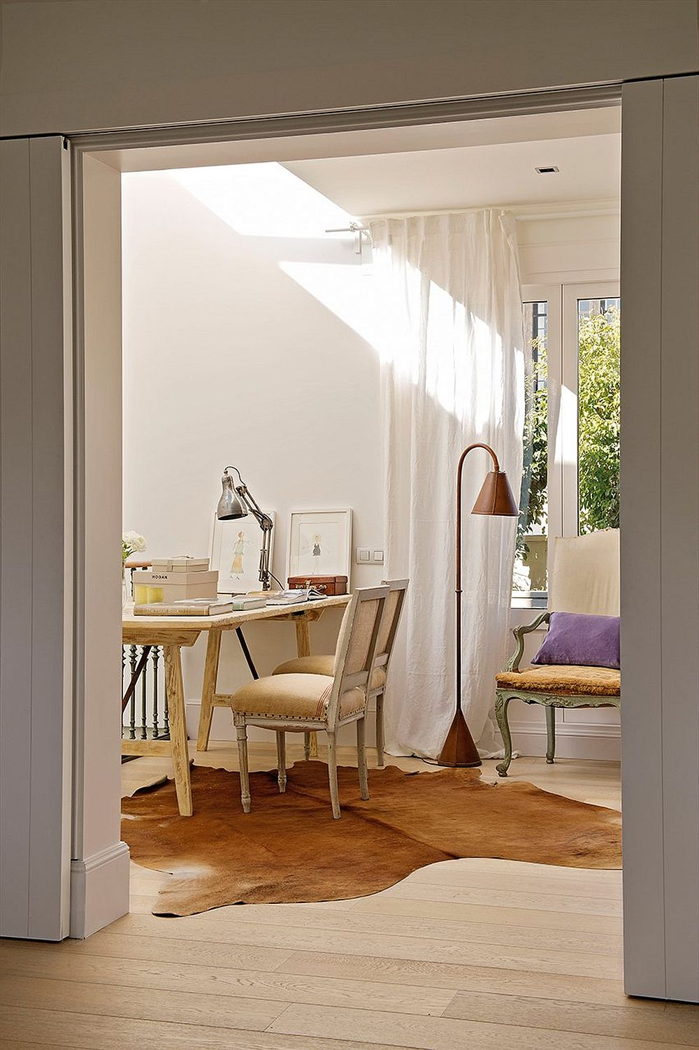 adelaparvu.com despre casa veche renovata, arhitect Albert Blanch, designer Gaby Conde, Foto ElMueble (25)