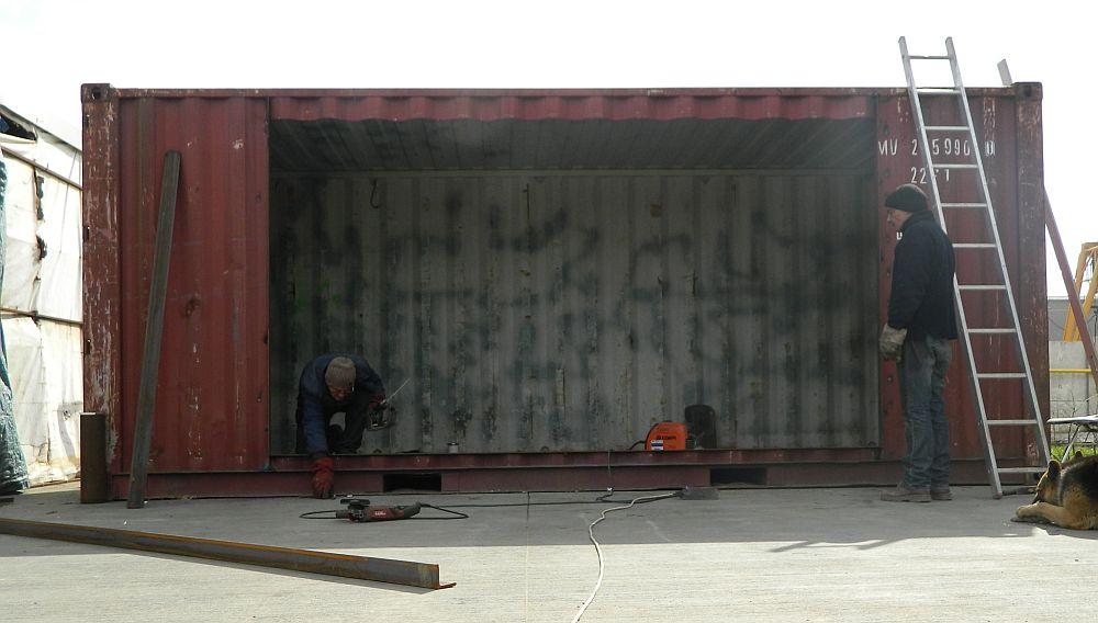 adelaparvu.com despre case din containere, IzziBox, designer Constantin Alupoaei (22)