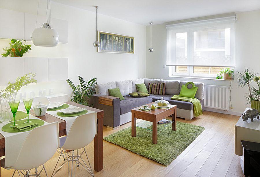 adelaparvu.com despre dormitor in living, recompartimentare la bloc, design Fabryka Nastroju (7)