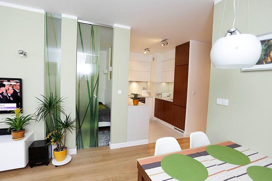 adelaparvu.com despre dormitor in living, recompartimentare la bloc, design Fabryka Nastroju (8)