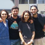 adelaparvu.com despre echipa creativa Visuri la cheie sezonul 3, Adela Parvu, Dragos Bucur, Alina Vilcu si Omid Ghannadi