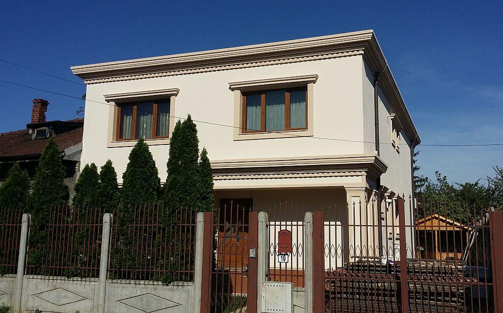 adelaparvu.com despre fatade exterioare redecorate cu profile decorative, lucrare CoArtCo (3)