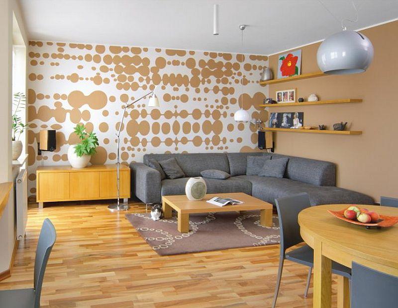 adelaparvu.com despre living cu birou si loc de masa, design Kreativa, Foto Rafal Lipski (4)