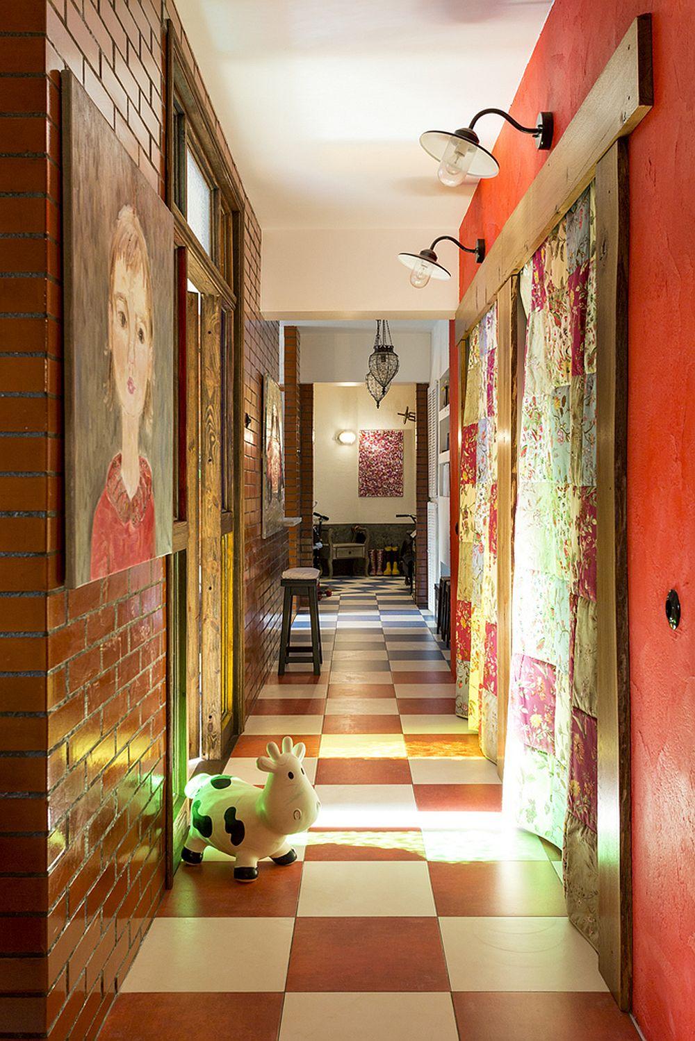 adelaparvu.com despre locuinta creativa Moscova, 82 mp, design lenka.design, designer Elena Fateeva (14)