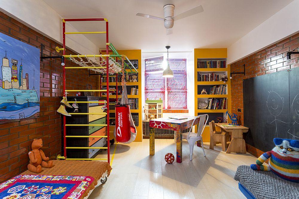 adelaparvu.com despre locuinta creativa Moscova, 82 mp, design lenka.design, designer Elena Fateeva (18)