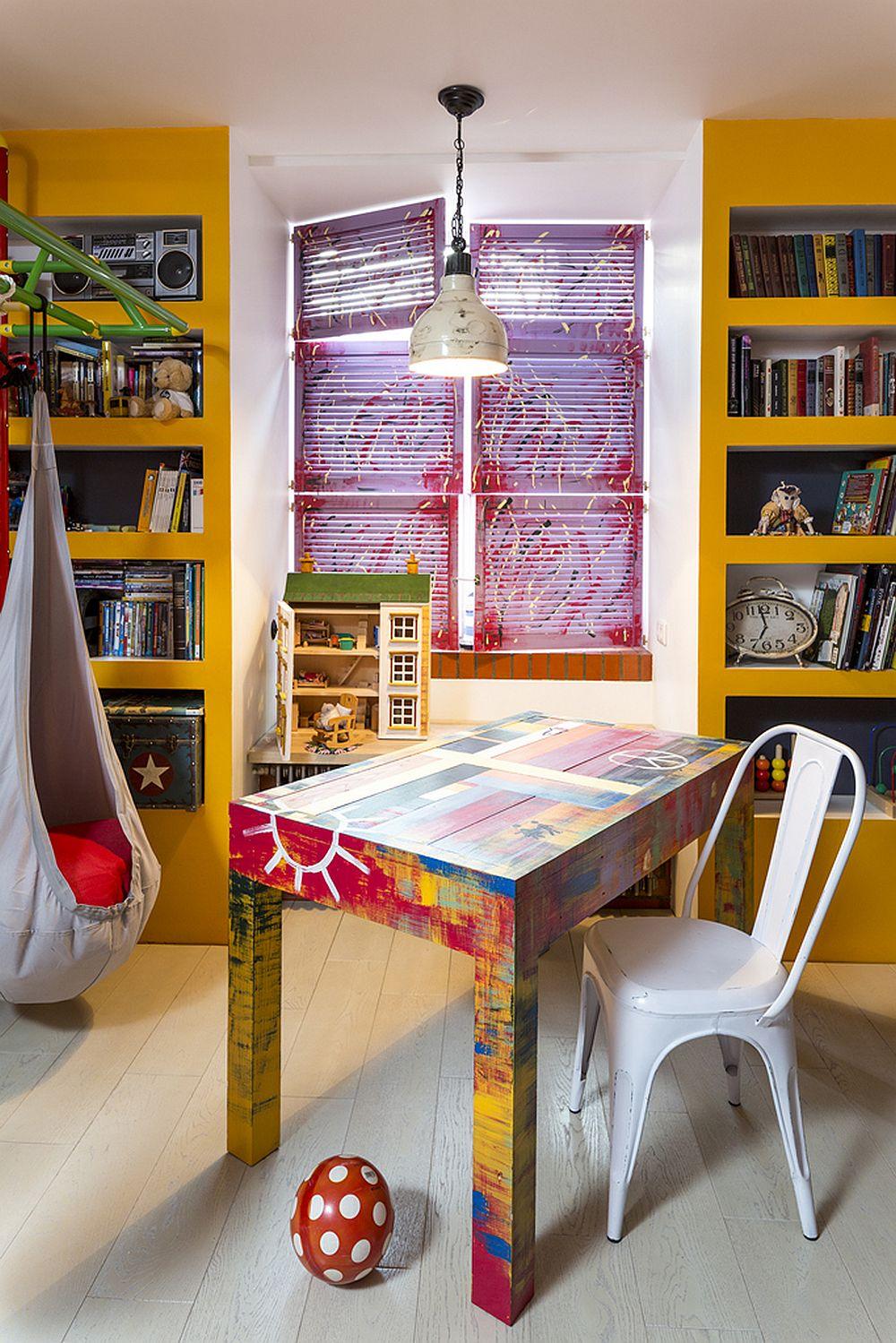 adelaparvu.com despre locuinta creativa Moscova, 82 mp, design lenka.design, designer Elena Fateeva (19)