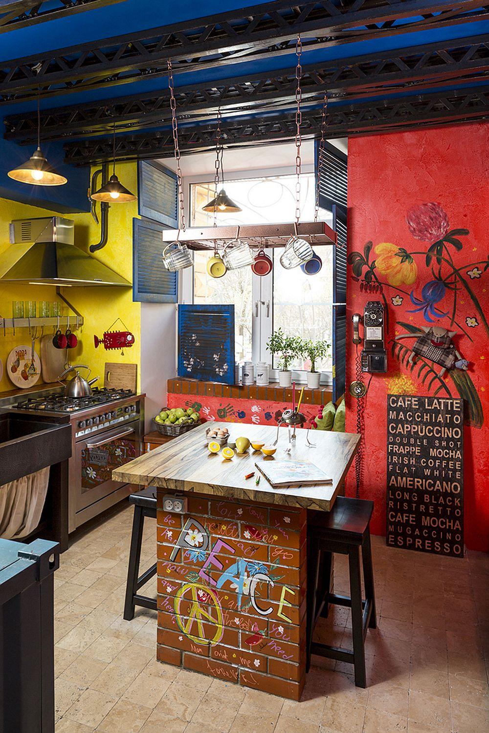 adelaparvu.com despre locuinta creativa Moscova, 82 mp, design lenka.design, designer Elena Fateeva (2)
