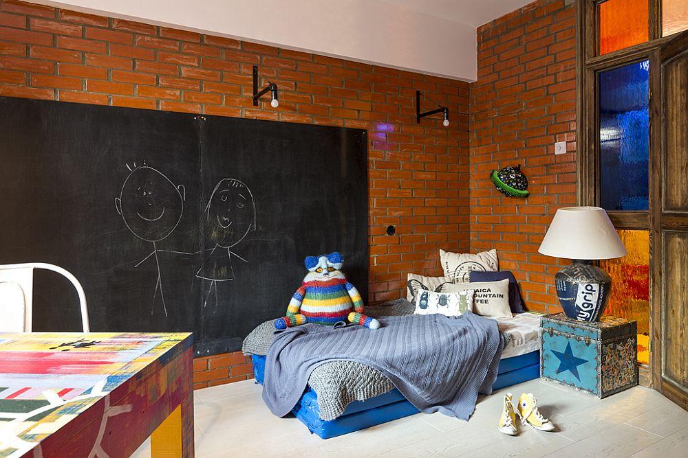 adelaparvu.com despre locuinta creativa Moscova, 82 mp, design lenka.design, designer Elena Fateeva (20)