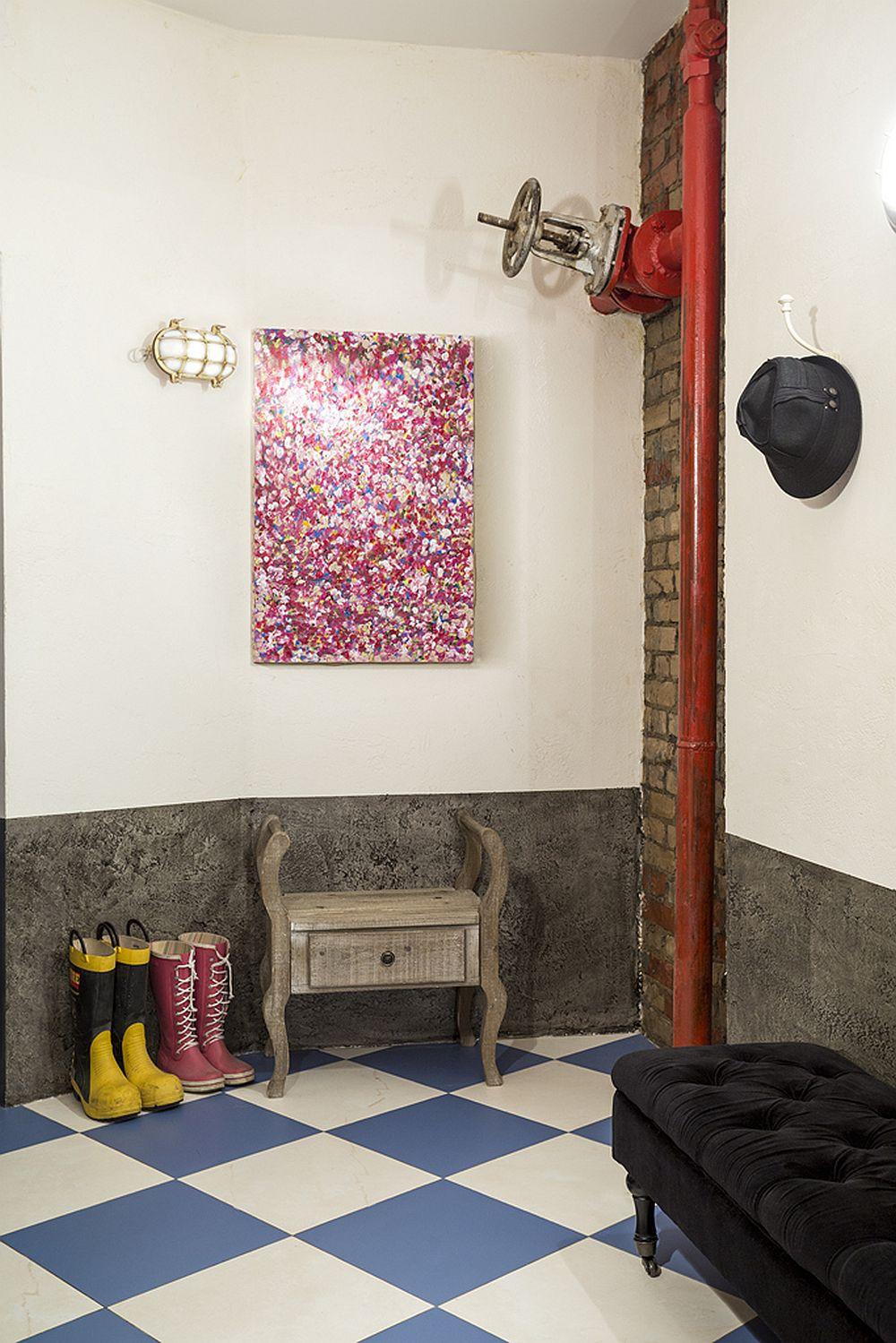 adelaparvu.com despre locuinta creativa Moscova, 82 mp, design lenka.design, designer Elena Fateeva (22)