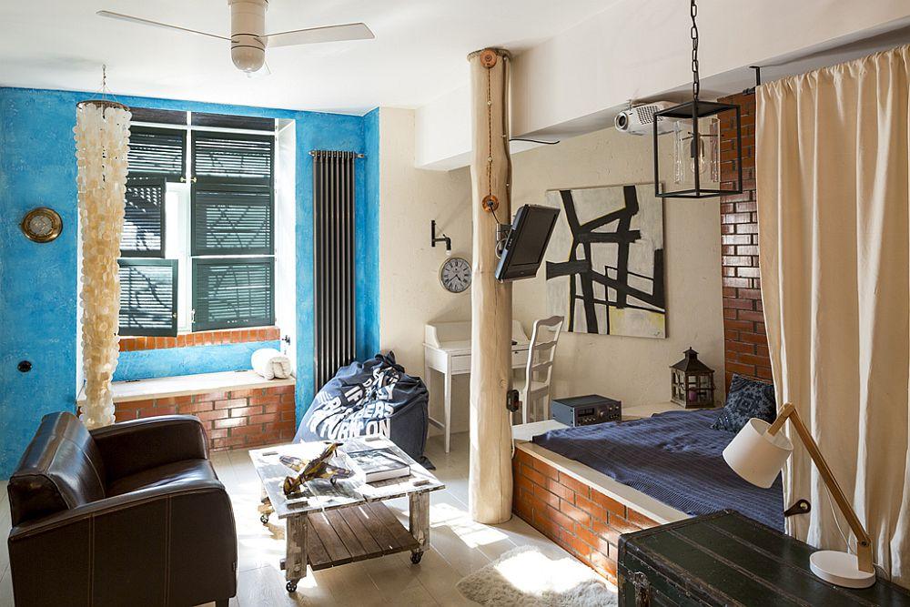 adelaparvu.com despre locuinta creativa Moscova, 82 mp, design lenka.design, designer Elena Fateeva (7)