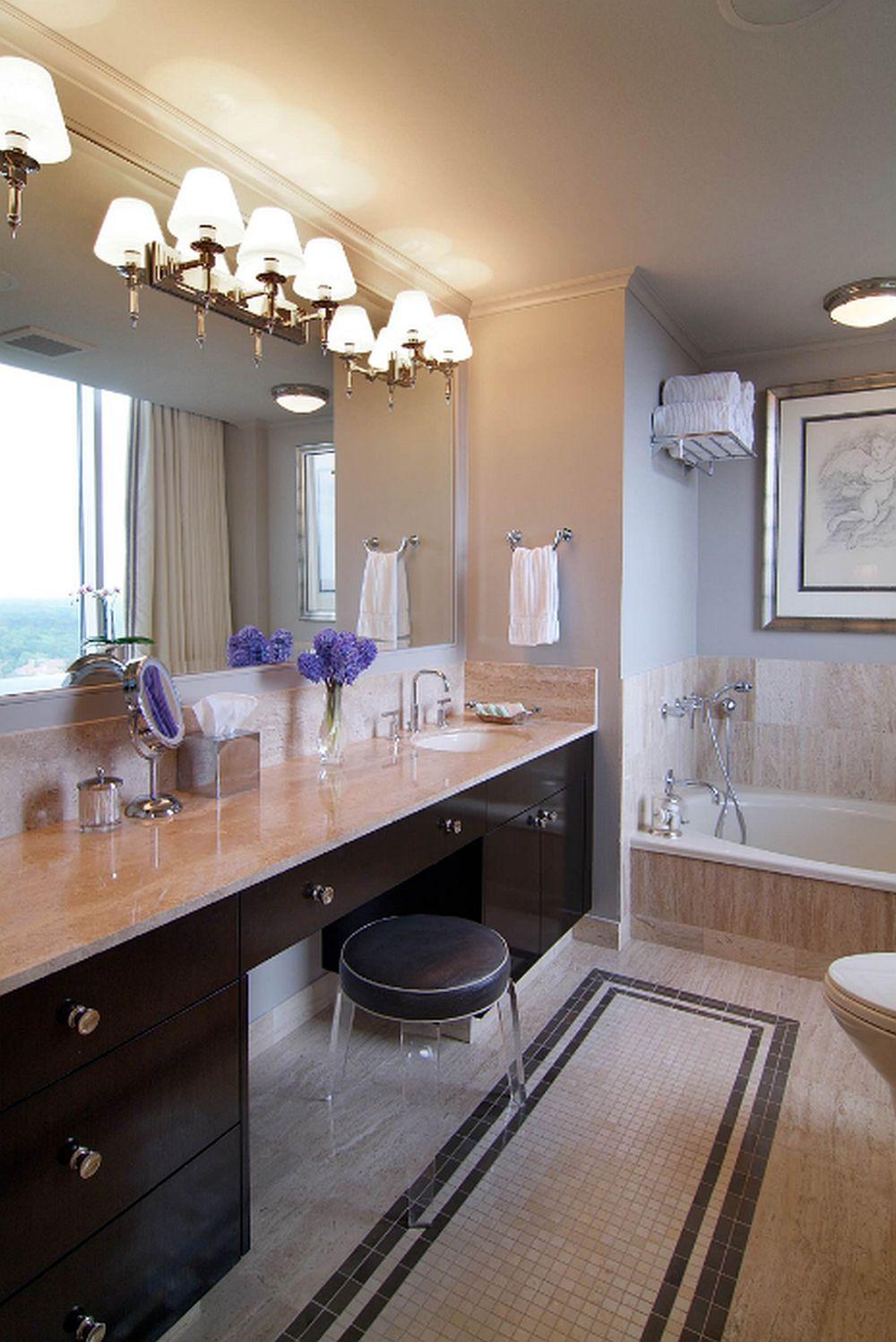 adelaparvu.com despre masute de toaleta, Foto Montgomery Roth Architecture & Interior Design