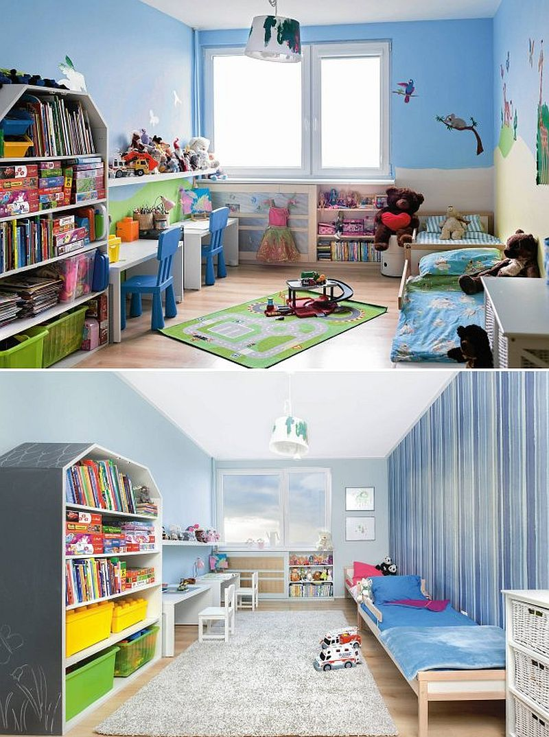 adelaparvu.com despre redecorare camera pentru doi frati (7)