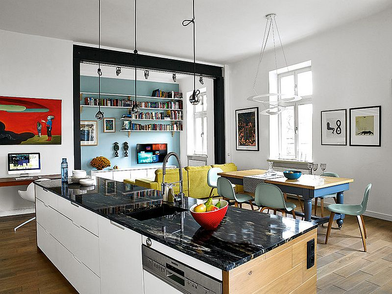adelaparvu.com despre transformare locuinta 145 mp, design Kropka Studio, Foto Michal Skorupski  (2)