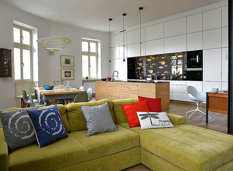 adelaparvu.com despre transformare locuinta 145 mp, design Kropka Studio, Foto Michal Skorupski (5)