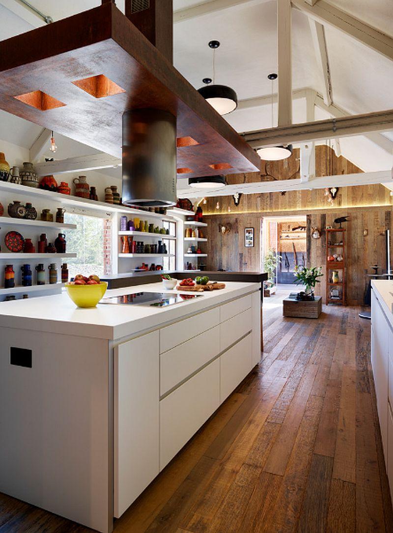 adelaparvu.com despre amenajare actuala, combinatie intre contemporan si rustic, designer Vanessa Weeks, Hobson Choice (5)