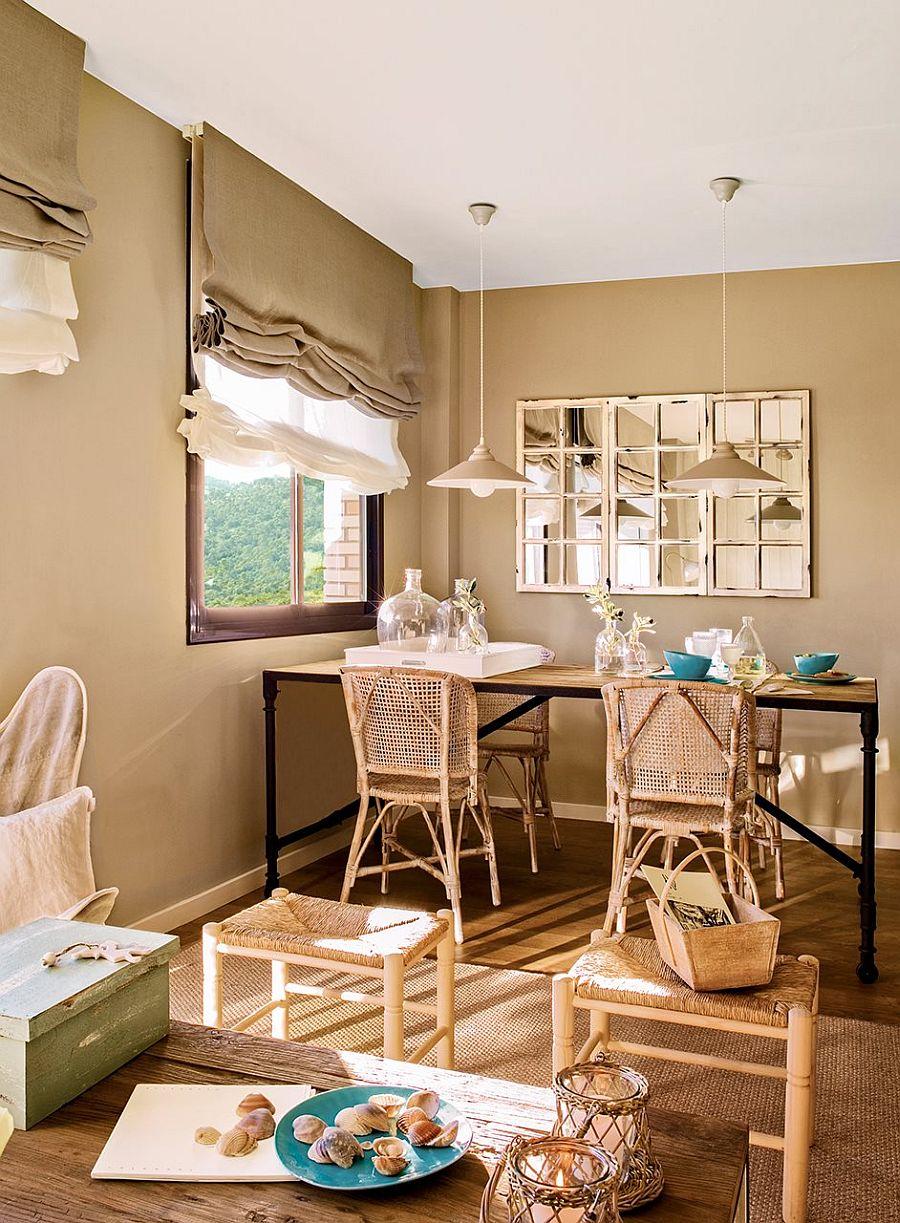 adelaparvu.com despre apartament in nuantele plajei, designer Clara Valls, Foto ElMueble (1)